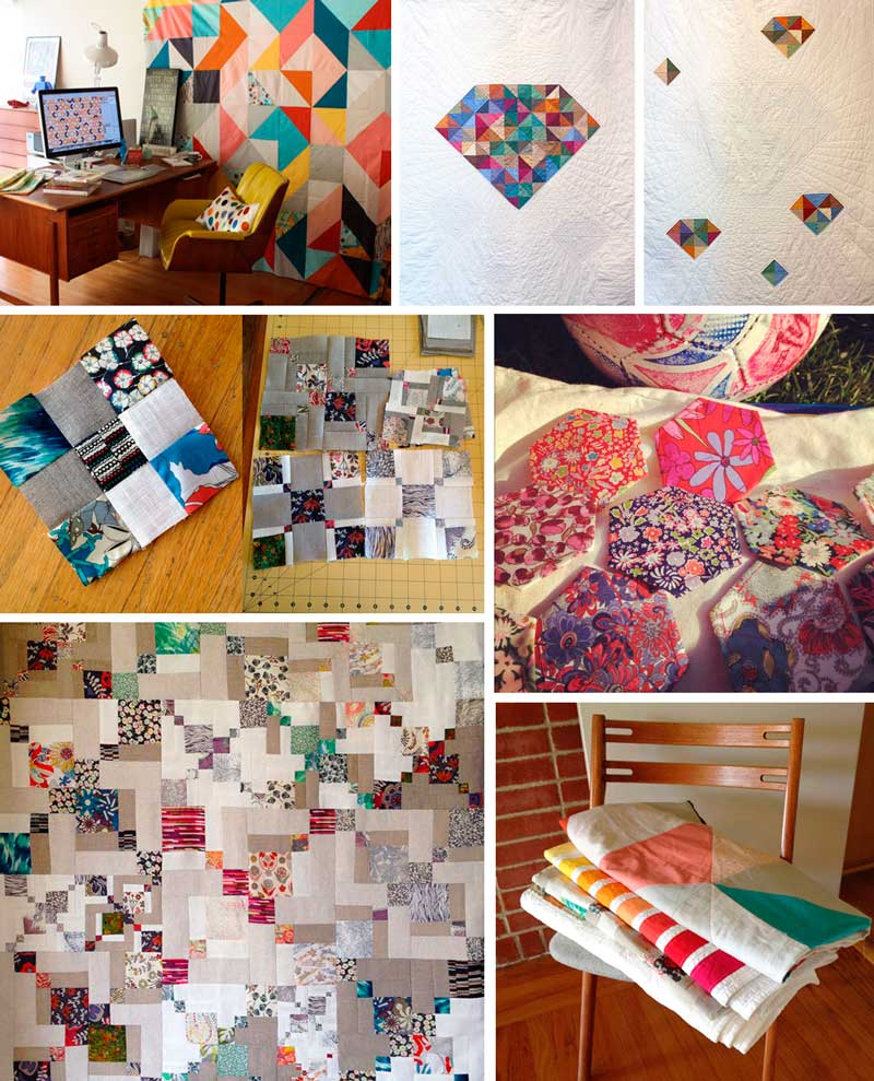 "Images from my post ""A Journey to Quilts"""
