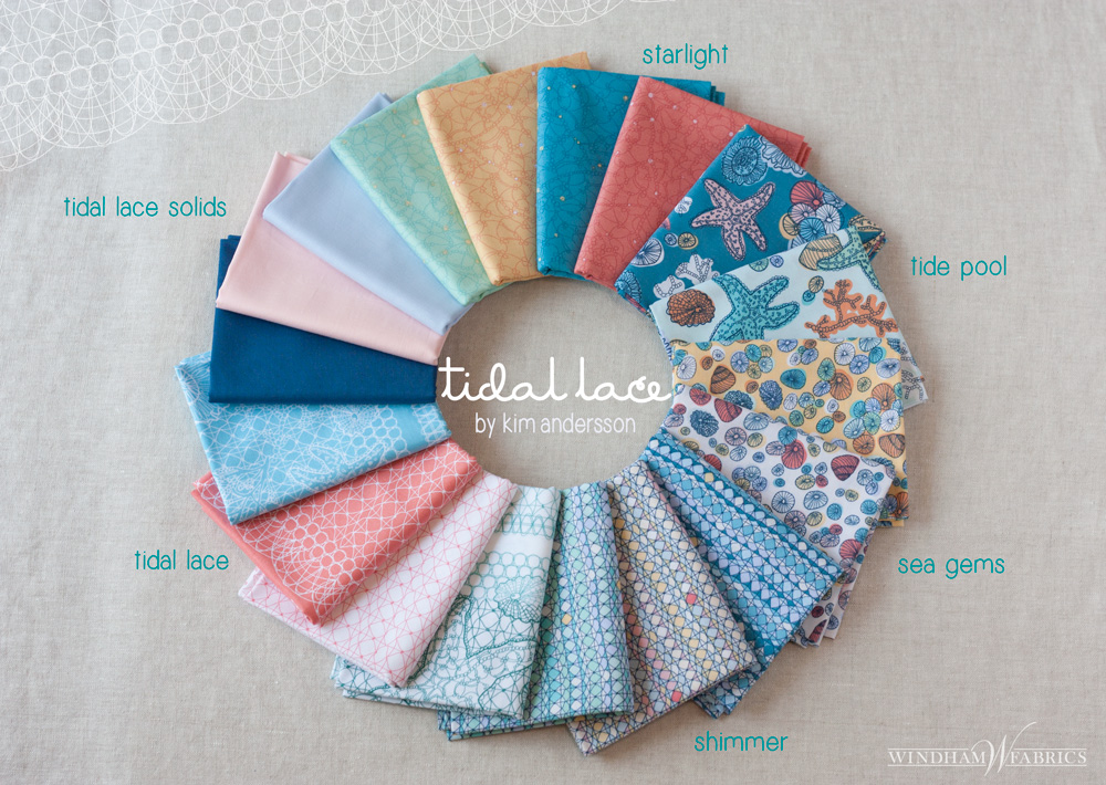 Tidal Lace Fat Quarter Wheel