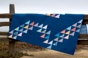 Tidal Wave Quilt by Erin Burke Harris. Photo by Danielle Collins.