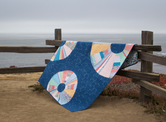 Tide Pool Quilt by Amanda Hohnstreiter. Photo by Danielle Collins.