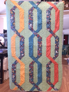 Taffy Twist 39x60 By Kathie's Quilt Shoppe