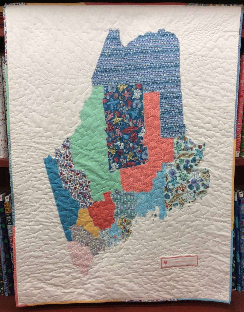 Sixteen Counties Has My State 44x60 By On Board Fabrics