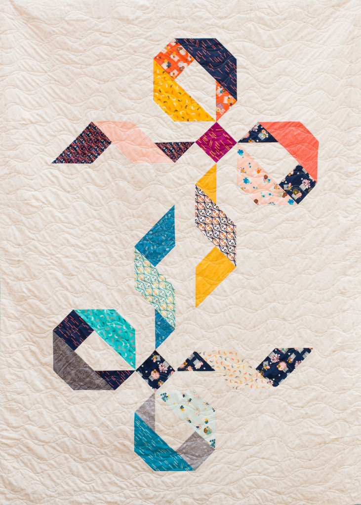 Twice Tied Quilt. Photo by Danielle Collins